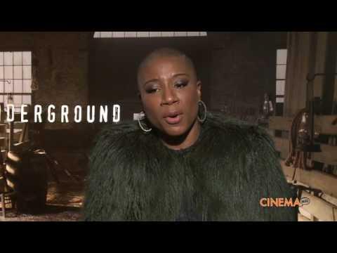 Director Anthony Hemingway and Aisha Hinds talk Underground Season 2