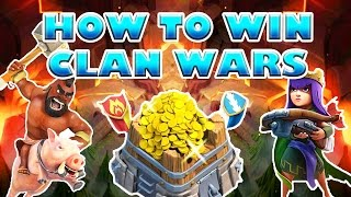 TOP 5 TIPS - HOW TO WIN CLAN WARS | Clash of Clans