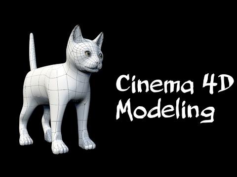Cinema 4D | Cat |Modeling