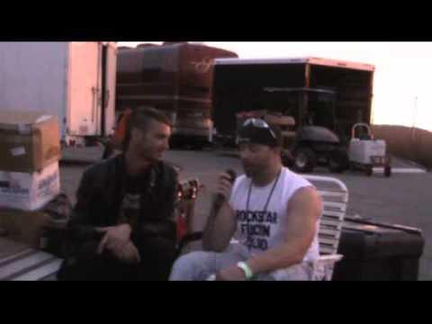 Hail The Villain's Bryan Crouch on Rockstar Radio™ Live from Uproar