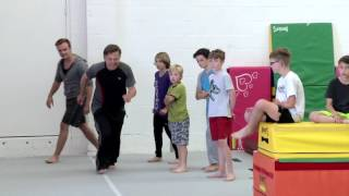 go! Parkour kids camp