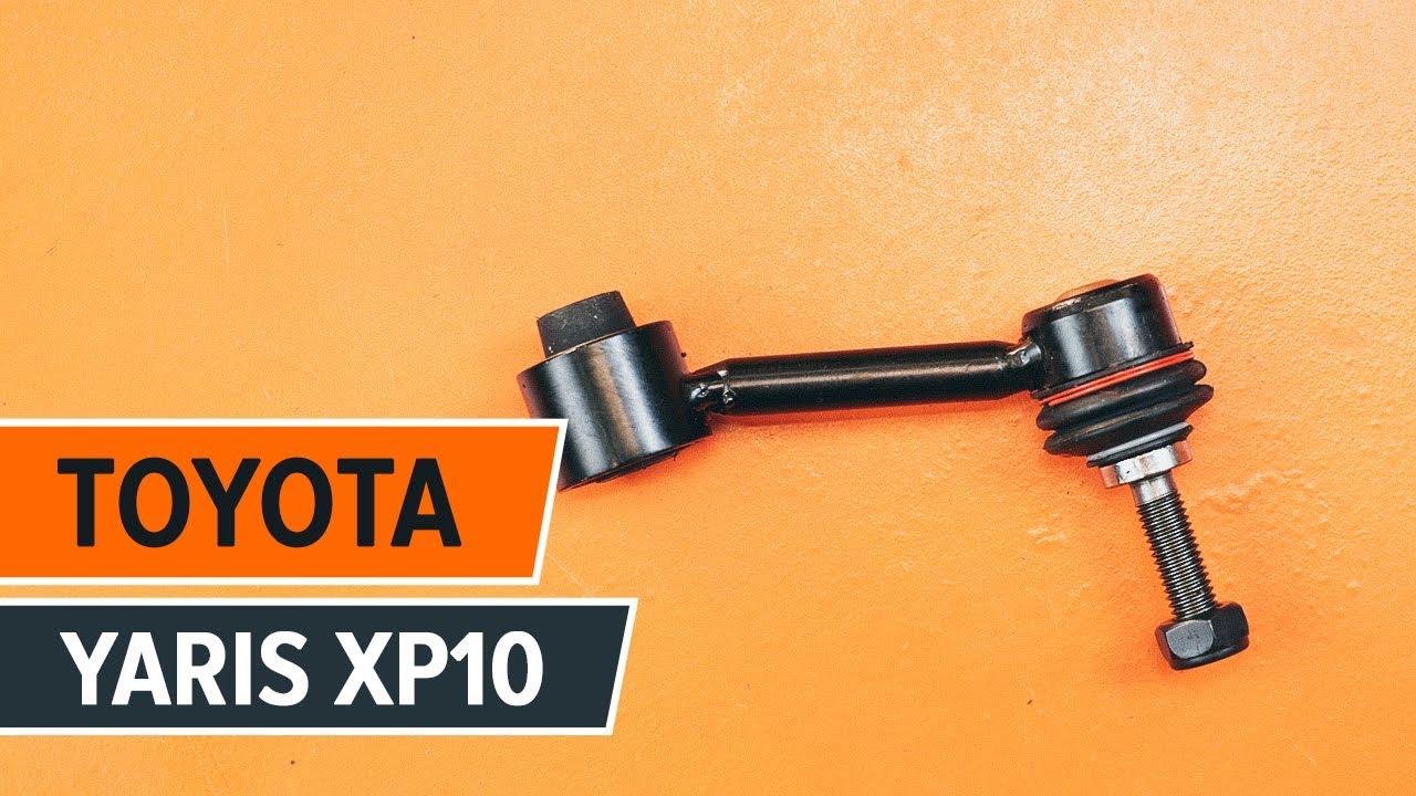 C 243 Mo Cambiar La Bieletas De Suspension Delantero En Toyota