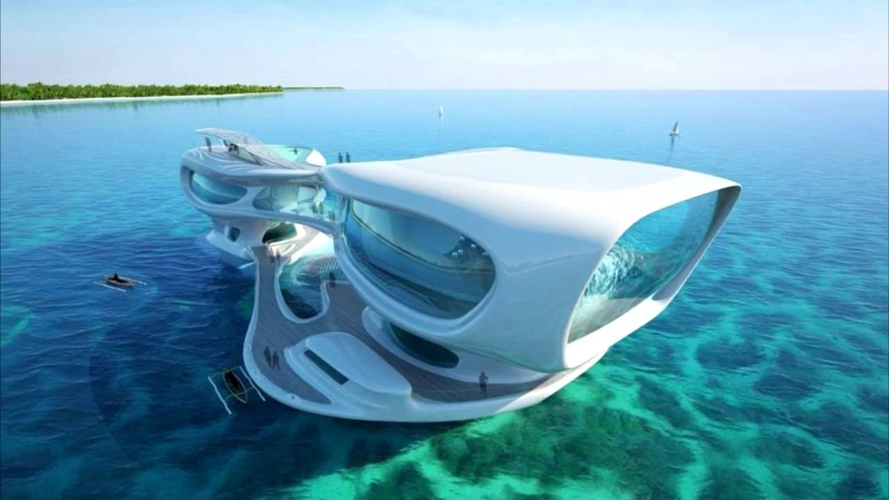 21 amazing futuristic floating homes and houseboats (concept
