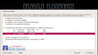 dual boot kali linux windows 8 1 creation new partition and install kali  english tutorial