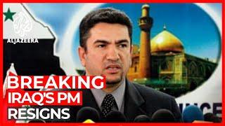 Iraq's Prime Minister-designate Adnan al-Zurfi resigns
