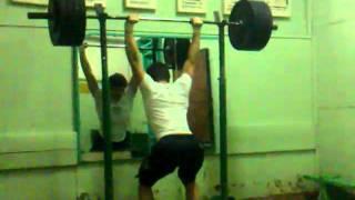 150 KG Jerk Balance @82 KG