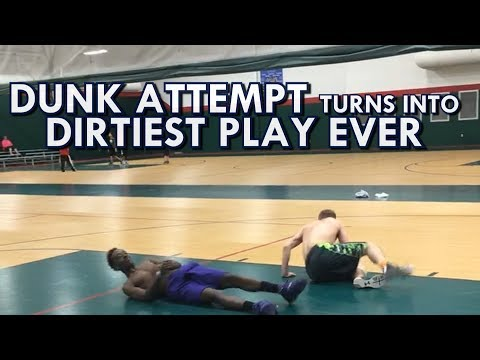 DIRTIEST PLAY OF ALL-TIME!!! DUNKCAM GONE WRONG