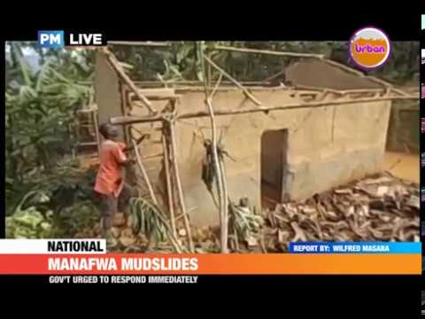 #PMLive: Houses, crops and animals destroyed by mudslides in Manafwa