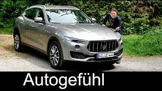 Maserati Levante S Q4 FULL REVIEW 3.0 l V6 SUV test all-new neu - Autogefühl