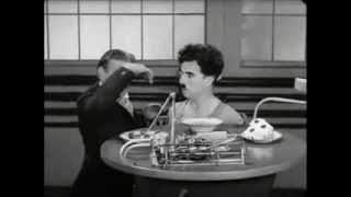 tiempos modernos escena lunch Chaplin