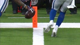 Keke Coutee Almost Fumbles for a Touchback on TD | Colts vs. Texans | NFL