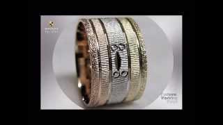 как правильно выбрать свадебные кольца, обручальное кольцо из белого золота с бриллиантом