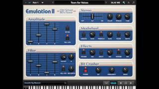 UVI Emulation II Demo