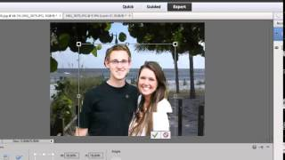 Blending Two Photos Together in Adobe Photoshop Elements 11