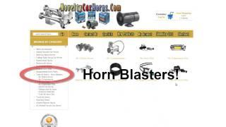 Loud Car Horns - Loudest Electric Car Horn