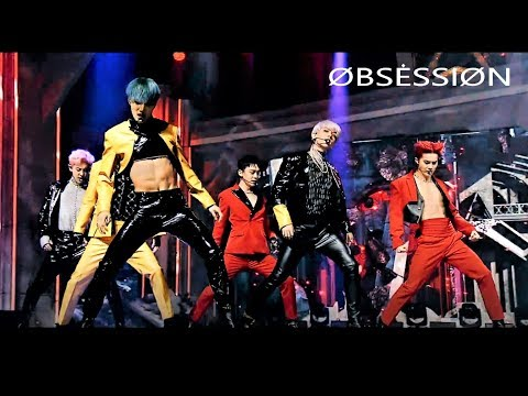 EXO(엑소)_ 'Obsession' Live(EXO & X-EXØ Ver) @Comeback Stage