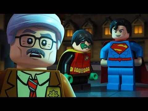 LEGO Justice League Gotham City Breakout | Commissioner Gordon, Meet Superman! | DC Kids