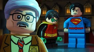 LEGO Justice League Gotham City Breakout | Commissioner Gordon, Meet Superman! | DC Kids
