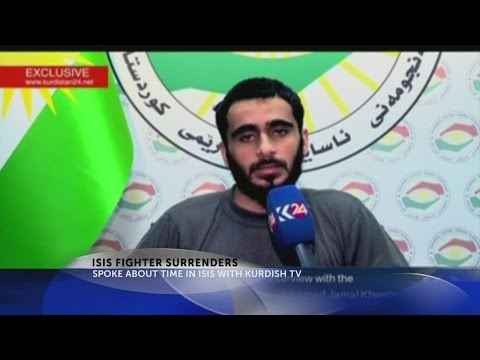 Palestinian-American IS fighter surrenders to Iraqi Kurds