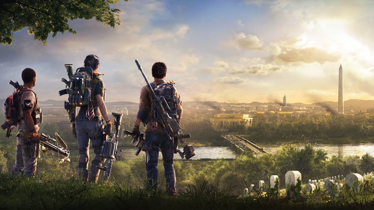 PS4《汤姆克兰西:全境封锁2》故事宣传影像