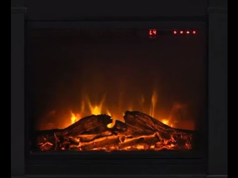 Ameriwood Home S Altraflame 23 Fireplace Insert Features Youtube
