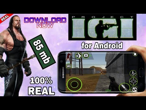 Real Project IGI For Android Phone By AndroKaran