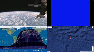 Pacific Clouds - NASA/ESA ISS LIVE Space Station With Map - 26 - 2018-07-16