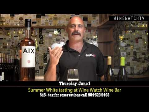 Summer White Tasting at Wine Watch Bar - click image for video