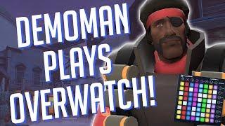 Demoman Plays OVERWATCH! Soundboard Pranks in Competitive!