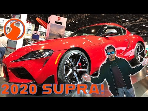 The 2020 Toyota Supra is MUCH Better in Person - 2020 Toyota Supra First Look and Tour