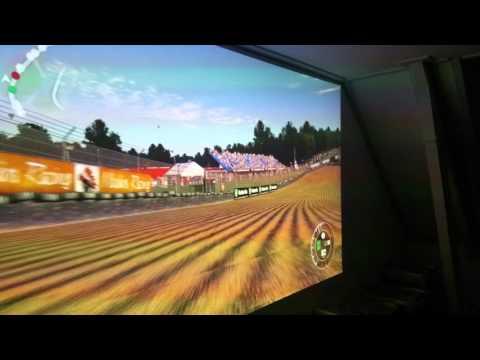 Project 'project Cars'.  DIY race simulator.