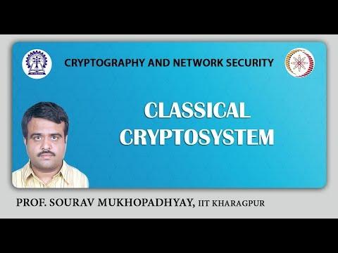 Classical Cryptosystem.
