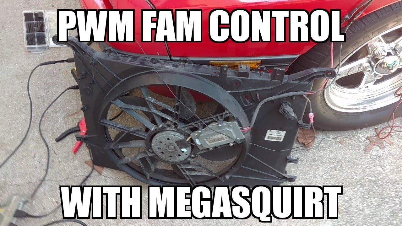 small resolution of megasquirt pwm speed control how to with a junkyard volvo fan