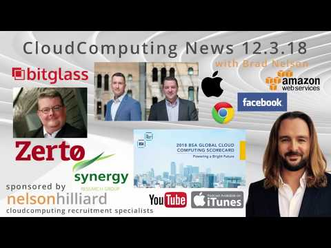 W/C 12.3.18 News Cloud Computing - Nelson Hilliard