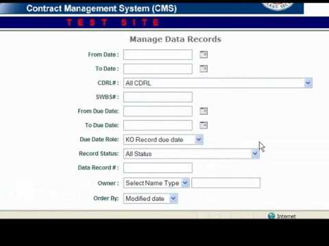 Contract Management System - YouTube