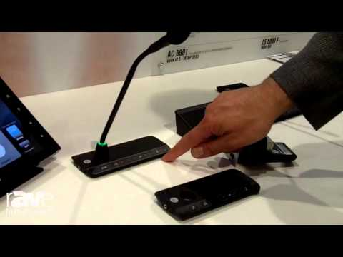 InfoComm 2014: Shure Shows its DDS 5900 Digital Discussion System