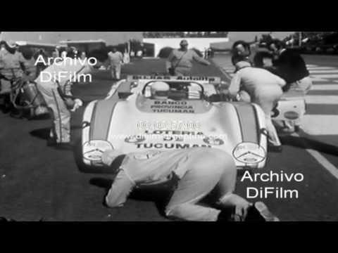 Nasif Estefano gana carrera de Sport Prototipo en Buenos Aires 1971