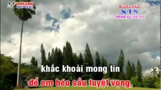 Karaoke [VONG CO] Chiếc bóng bên đời - song ca Xakura