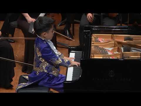 Anson Zhuo Heng Yu (7) Concertino A Minor By Yuri Polunin