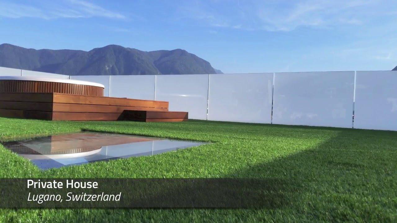Realizzazioni terrazzi tetti verdi giardini e giardini - Terrazzi e giardini pensili ...