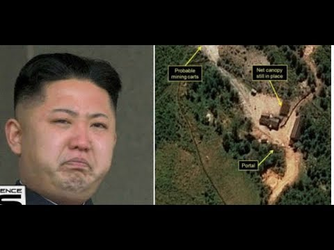 BREAKING! MASSIVE NORTH KOREA NUCLEAR SITE COLLAPSE LEAVES 200 DEAD!