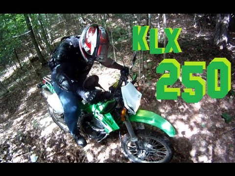 Riding With A 2007 Klx 250