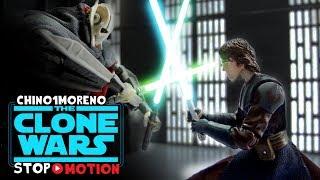 Star Wars Anakin and 501st stop motion: Ahsoka\'s rescue