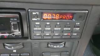 БМВ Е34 Функції БК (Бортовий комп'ютер ) BMW E34