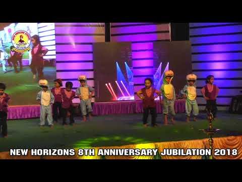 NEW HORIZONS SCHOOL MUPKAL 2018 UKG CHILDRENS