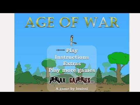Let's Play Age of War! (Impossible Mode)
