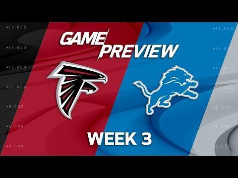 Atlanta Falcons vs. Detroit Lions   Week 3 Game Preview   NFL Playbook
