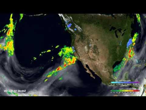 Atmospheric River Slams California
