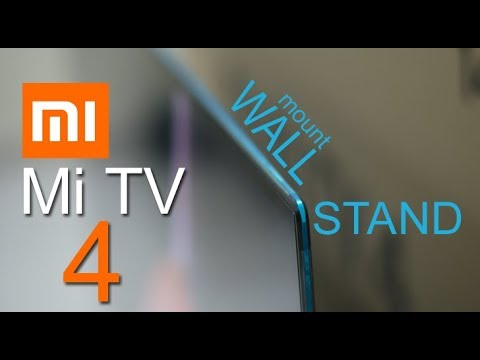 Mi Xiaomi Mi Led Smart Tv 4 Wall Mount Speaker Display Youtube
