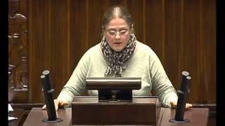 Krystyna Pawłowicz - wystąpienie z 26 maja 2015 r.
